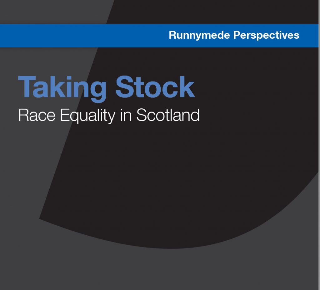 Taking Stock – Race Equality in Scotland