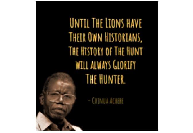 Achebe quote